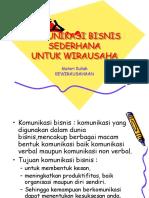 Teknik Komunikasi Bisnis Ppt