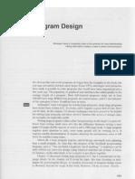 19. Program Design