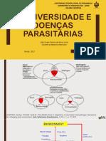BIODIVERSIDADE E DOENÇAS PARASITARIAS