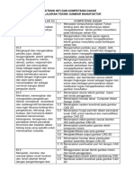 1. KI - KD Teknik Gambar Manufaktur.docx