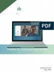 Yealink VC Desktop User Guide V1.21.3.2