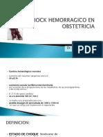 SHOCK HEMORRAGICO EN OBSTETRICIA.pptx