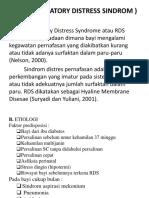 RDS (RESPIRATORY DISTRESS SINDROM ).pptx