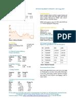 Market Update 2nd August 2017