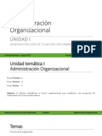 Funcion de La Organizacion