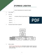Contoh Analisis Jabatan Direktur Standardisasi Dan Kompetensi Jabatan