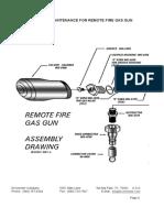 Remote Fire Gas Gun Explosion Diagram