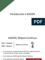 Clase Kaizen
