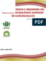 Revista de Ciencia e Ingenieria Del ITESCC (Año 1, No 2, 2014)