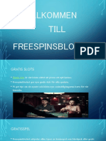 Freespins Inga insättningar
