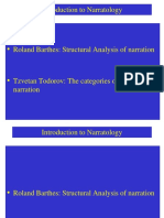 Narratology  Barthes-Todorov.ppt
