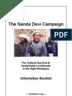 Nanda Devi Campaign Booklet