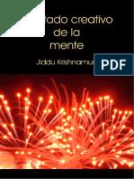 El estado creativo de la mente - Jiddu Krishnamurti.pdf