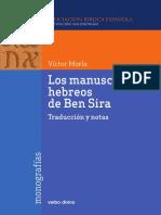 Los Manuscritos Hebreos de Ben Sira.pdf