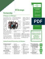 Build Line and HR Strategic Partnership