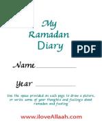 Ramadan Diary