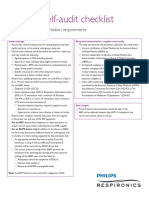 Medicare PAP Documentation Requirements - Supplier Self-Audit Checklist