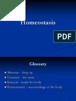 Homeostasis of the Body