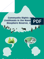 Community Rights and Livelihoods in the Nanda Devi Biosphere Reserve