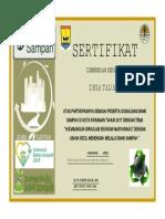 SERTIFIKAT BANK SAMPAH 2017.pdf