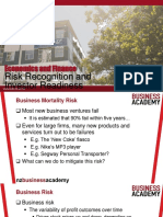 PPT Slides - Business Risks and Risk Reduction Strategies