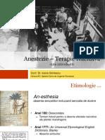 Istoria Anestezie Ccd