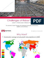 Challenges of Rebar Testing