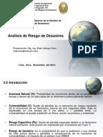 Analisis de Riesgos de Desastres
