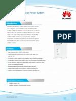 Datasheet 2.0m Hybrid Outdoor Power System