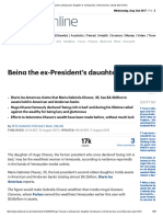 Print Hugo Chavez's Ambassador Daughter is Venezuela's Richest Woman _ Daily Mail Online