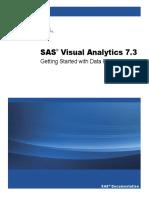 SAS VA 7.3 Getting Started With Data Preparation
