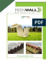 Brochure GreenWall - Uk -2016-A