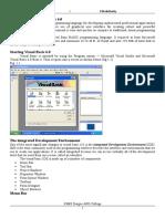 Visual Basic 6 0 Notes Short