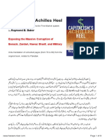Capitalism's Achilles Heel -  Exposing Massive Corruption Of Nawaz Sharif Benazir Bhutto and The Military - Urdu Version.pdf