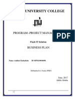 Business Plan Assignment-Andi