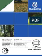 Husqvarna Husqvarna 135 135e 135e Triobrake 2013 Owner s Manual
