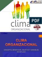 Clima Organizacional Sesion No 8