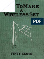 How to Make a Wireless Set