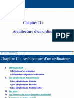 Architecture Dun Ordinateur