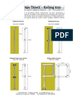 Key Clamps Direct Railing Kits