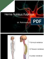 Dr. Rohmania - Hernia Nukleus Pulposus.pptx