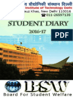 BSW Student Diary