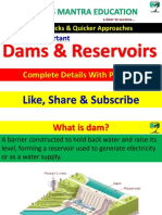 All Dams _ Reserviors in Inda