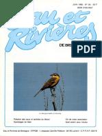 064 Eau & Rivières 64 - Juin 1988 - Epandages de Lisier