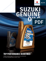 Suzuki Genuine Oils