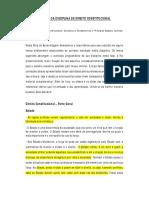 ESTUDO DIRIGIDO - CONSTITUCIONAL