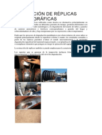 Extracción de Réplicas Metalográficas