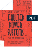 Analysis of Faulted Power Systems, Paul Anderson