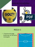 Reglamento de Microfutbol