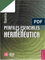 Beuchot Mauricio Perfiles esenciales de la Hermeneutica.pdf